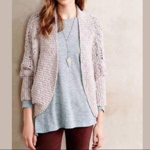 Anthropologie Moth Amherst Cocoon Cardigan